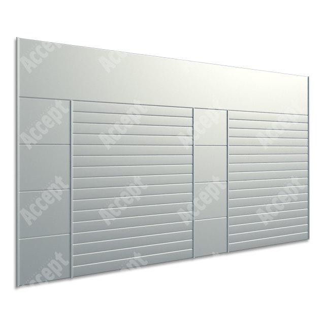 ACCEPT Hlavní orientační tabule ACS 013 (1018 x 656 mm) - stříbrná tabule