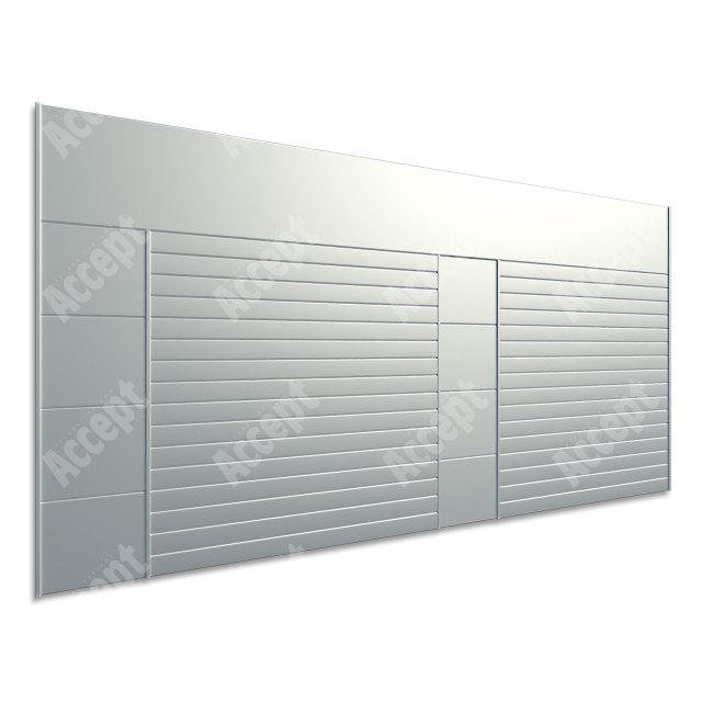 ACCEPT Hlavní orientační tabule ACS 014 (1218 x 656 mm) - stříbrná tabule