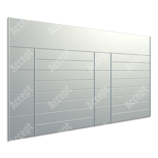 ACCEPT Hlavní orientační tabule ACS 015 (1018 x 656 mm) - stříbrná tabule