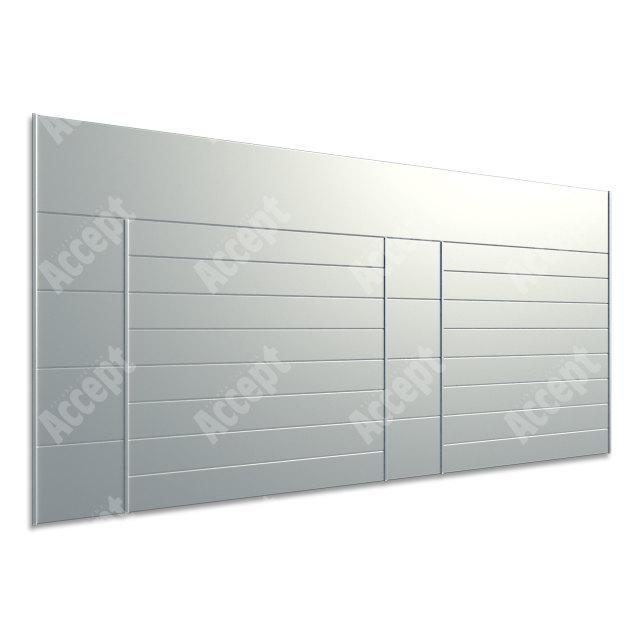 ACCEPT Hlavní orientační tabule ACS 016 (1218 x 656 mm) - stříbrná tabule