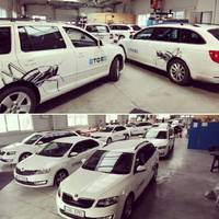 Polepy aut - Jmenovky, vlastní návrhy